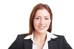 Allievo femminile sorridente Immagini Stock Libere da Diritti