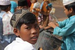 Allievo islamico della Cambogia Fotografia Stock Libera da Diritti