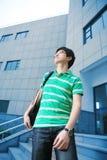 Allievo maschio asiatico Fotografia Stock Libera da Diritti