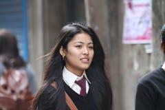 Allievo nepalese Immagine Stock Libera da Diritti