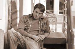 Allievo Pensive Fotografie Stock Libere da Diritti