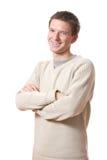 Allievo sorridente Fotografia Stock Libera da Diritti