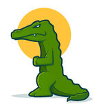 Alligator Character Stock Photo