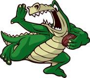 Alligator courant Photographie stock