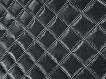 Alligator or crocodile black Leather Square stitched texture. Alligator or crocodile black Leather. Square stitched texture or background with bumps. 3d render stock illustration