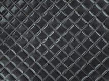 Alligator or crocodile black Leather Square stitched texture. Alligator or crocodile black Leather. Square stitched texture or background with bumps. 3d render vector illustration