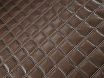 Alligator or crocodile brown Leather Square stitched texture. Alligator or crocodile brown Leather. Square stitched texture or background with bumps. 3d render vector illustration
