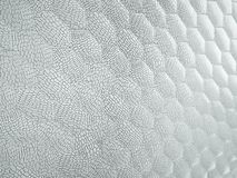 Alligator or crocodile white Leather hexagon stitched texture. Alligator or crocodile white Leather. hexagon or honeycomb stitched texture or background with vector illustration
