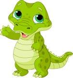 Alligator de bébé Image libre de droits