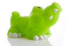Alligator de jouet Images libres de droits