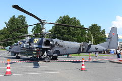 Alligator des Hubschrauberangriff-Ka-52 Lizenzfreie Stockfotografie