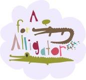 Alligator design Stock Photos