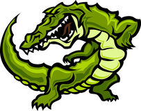 Alligator / Gator Mascot Vector Illustration. Image of Gator Mascot Logo stock illustration