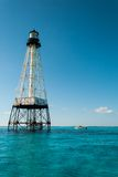 Alligator Reef Lighthouse. In the Florida Keys Royalty Free Stock Image