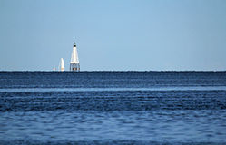 Alligator Reef Lighthouse Royalty Free Stock Photo