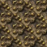 Alligator skin seamless background Stock Photography