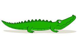 Alligatore del fumetto illustrazione di stock