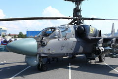 Alligatore dell'attacco con elicottero Ka-52 Immagine Stock