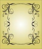 Сalligraphy frame Stock Photo