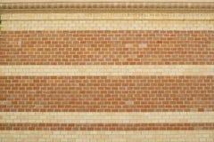 Allinea i mattoni in due colori Fotografie Stock