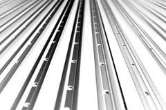 Allineamento astratto del profilo di alluminio Immagine Stock