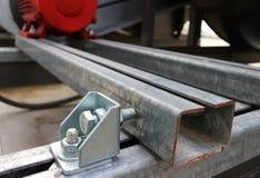 Allineamento Bolt in uso Fotografia Stock