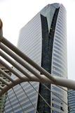 allineamento dei fabbricati dei palazzi del distretto della Tailandia Bangkok cielo Fotografie Stock