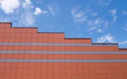 allineamento dei fabbricati tetto Fotografia Stock Libera da Diritti