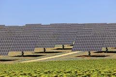 Centrale elettrica solare Immagine Stock Libera da Diritti