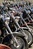 Allineamento del motociclo Immagine Stock