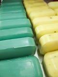Allineamento del sapone di barra Immagine Stock Libera da Diritti
