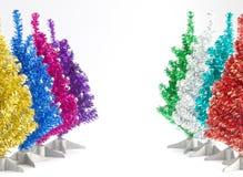 Allineamento della decorazione degli alberi di Natale Immagini Stock