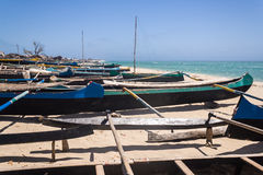 Allineamento delle canoe Fotografia Stock Libera da Diritti