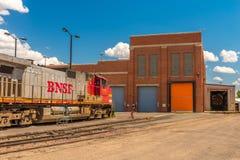 Allineamento di BNSF Fotografie Stock Libere da Diritti