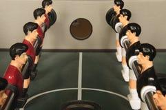 Allineamento di Foosball Fotografia Stock