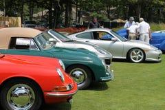 Allineamento di Porsche Immagine Stock Libera da Diritti