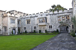 Allington Castle inner Courtyard Royalty Free Stock Photography