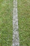 Allini un campo di football americano Immagine Stock Libera da Diritti