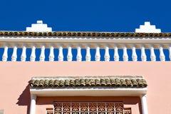 allini in vecchie mattonelle del Marocco Africa e ceramico Immagini Stock Libere da Diritti
