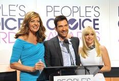 Allison Janney & Anna Faris & Dylan McDermott Royalty Free Stock Photos