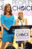 Allison Janney & Anna Faris Royalty Free Stock Images