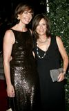 Allison Janney and Jane Kaczmarek. WEST HOLLYWOOD, CALIFORNIA. Friday August 25, 2006. Allison Janney and Jane Kaczmarek attend the 58th Annual Primetime Emmy Royalty Free Stock Images
