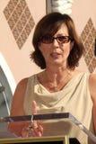 Allison Janney, John-Vertiefungen lizenzfreie stockbilder