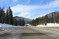 Allison Pass in Southern BC. Allison Pass, the gateway between the Fraser Valley and the Okanagan Similkameen.  Allison Pass is the highest point (el. 1,342 m or Royalty Free Stock Image