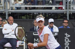 Allison Riske brindisi fed cup 2015 Royalty Free Stock Photos