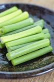 Allium o porro dell'aglio Immagine Stock