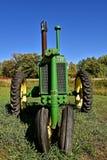 Allmän avsiktJohn Deere traktor Royaltyfria Bilder