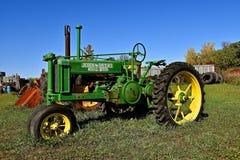 Allmän avsiktJohn Deere traktor Arkivfoton