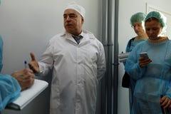 Allmän direktör av kemikalie-biologiskt företag Vita Mikhail Borts Royaltyfri Fotografi