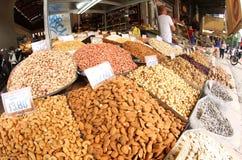 Allmän marknad av Aten Arkivfoto